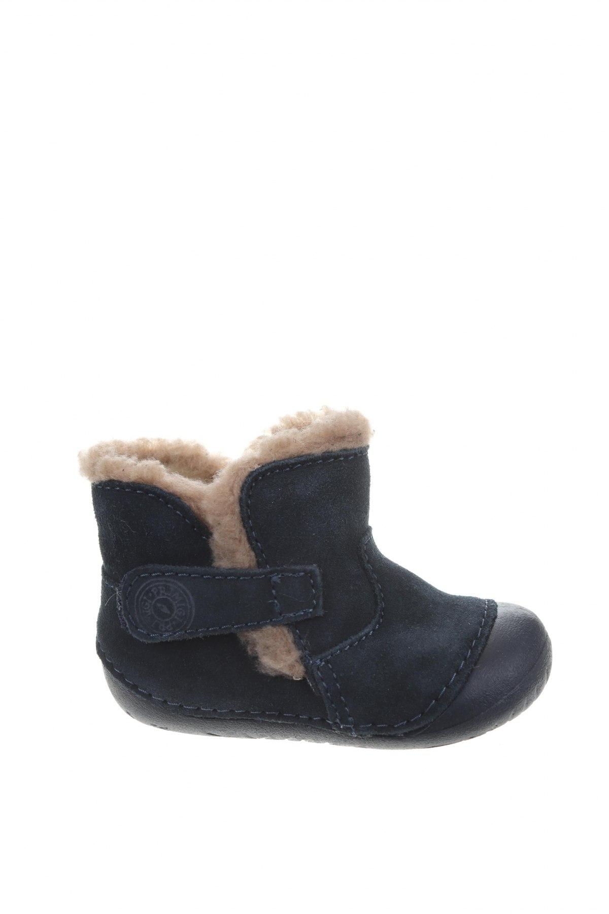 Детски обувки Primigi, Размер 18, Цвят Син, Естествен велур, Цена 45,15лв.