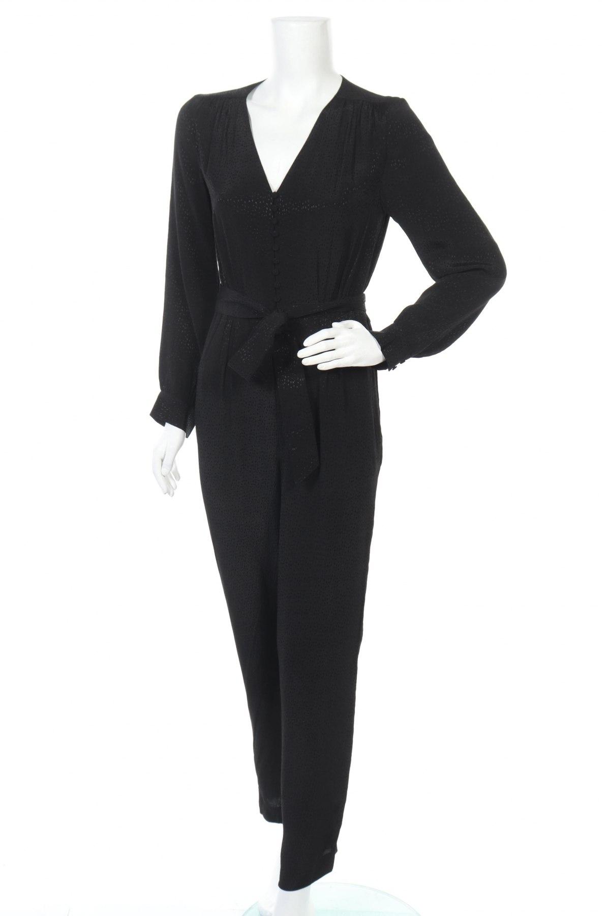 Γυναικεία σαλοπέτα Massimo Dutti, Μέγεθος S, Χρώμα Μαύρο, 100% βισκόζη, Τιμή 19,97€