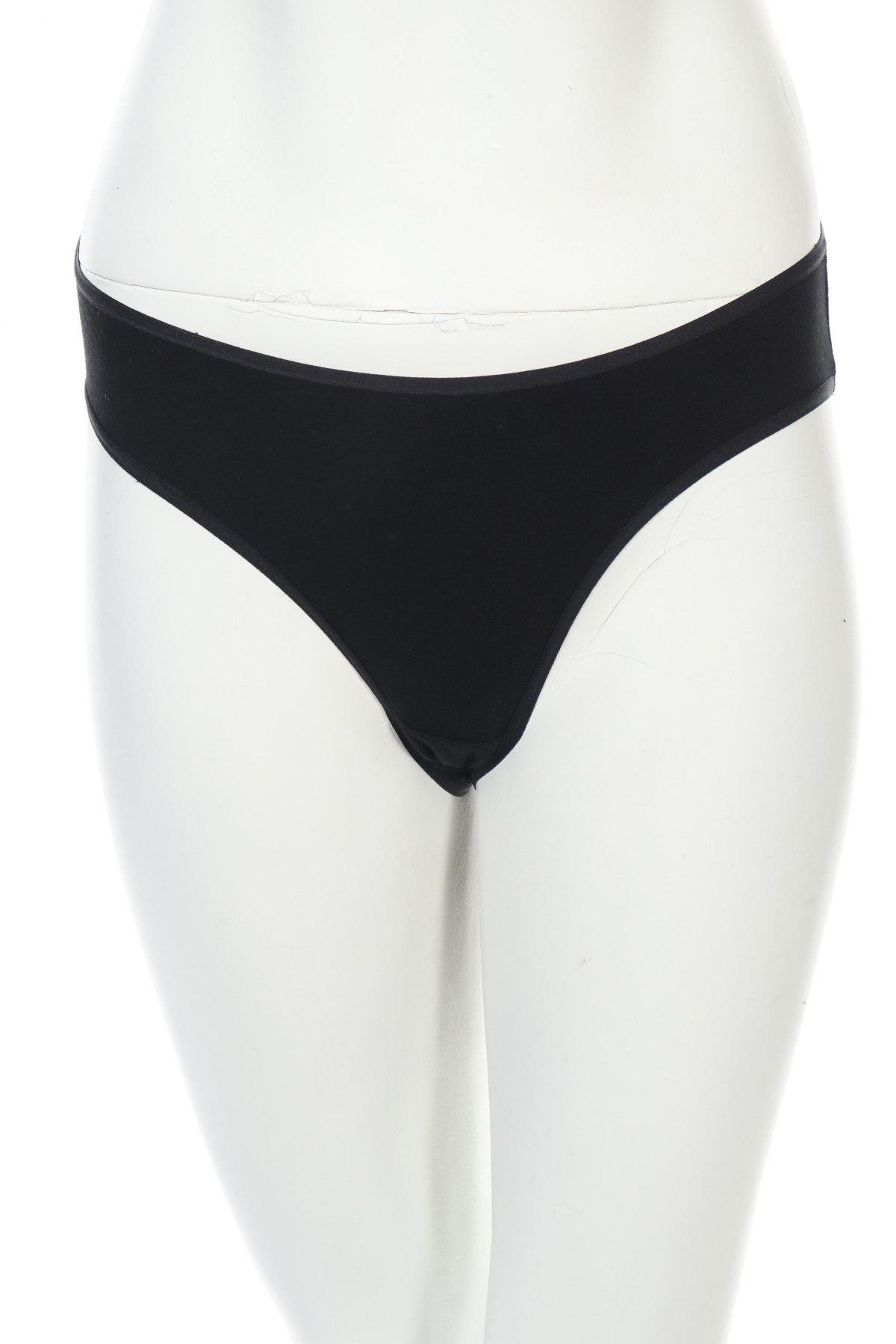Дамски комплект, Размер XS, Цвят Черен, 95% памук, 5% еластан, Цена 8,96лв.