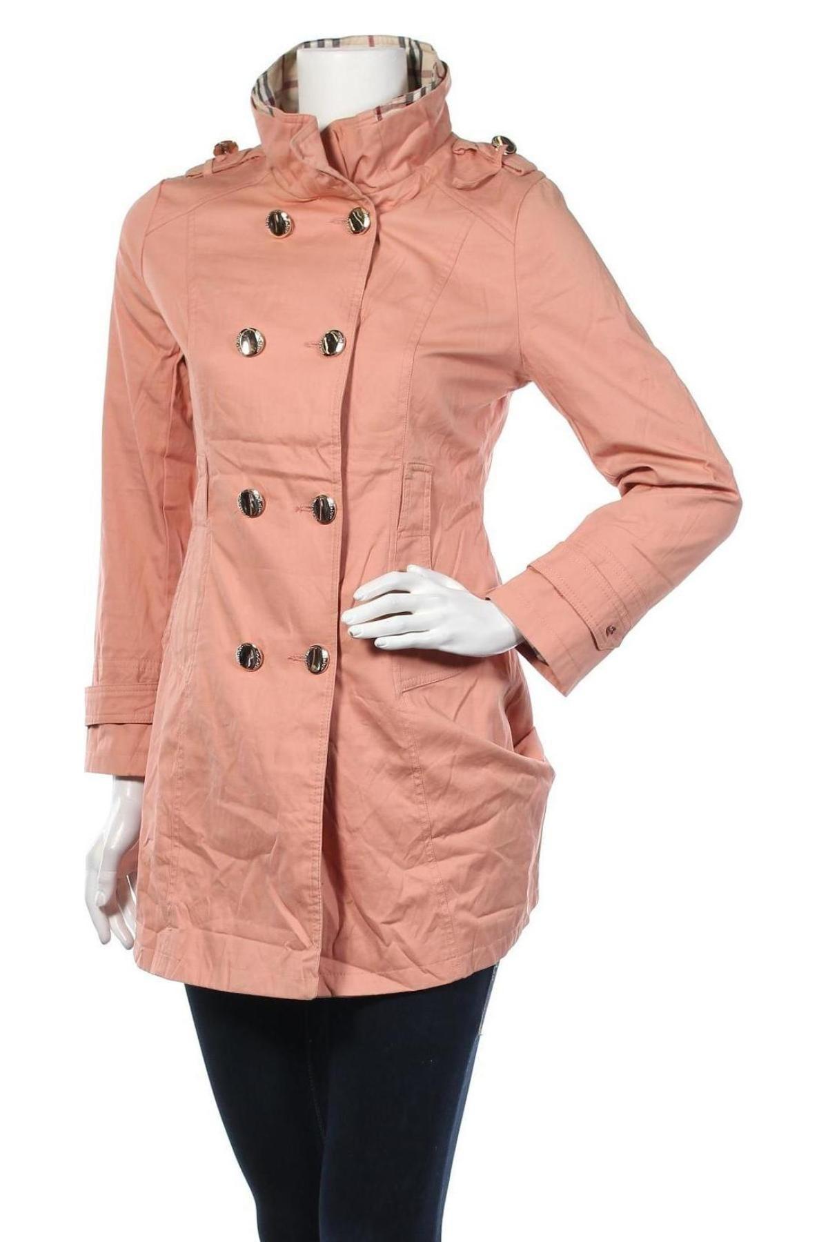 Дамско палто, Размер S, Цвят Розов, Цена 54,60лв.