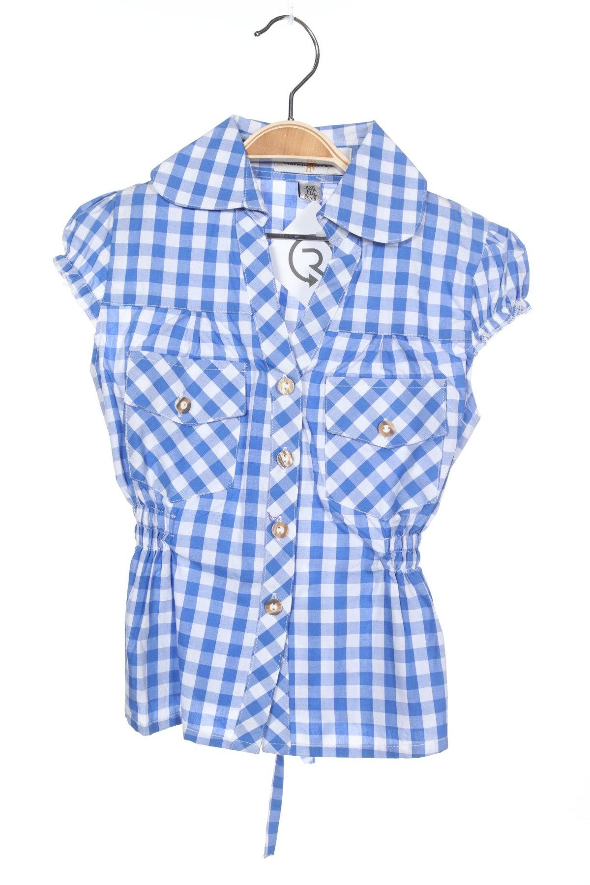 Παιδικό πουκάμισο Almsach, Μέγεθος 12-18m/ 80-86 εκ., Χρώμα Μπλέ, Βαμβάκι, Τιμή 5,78€