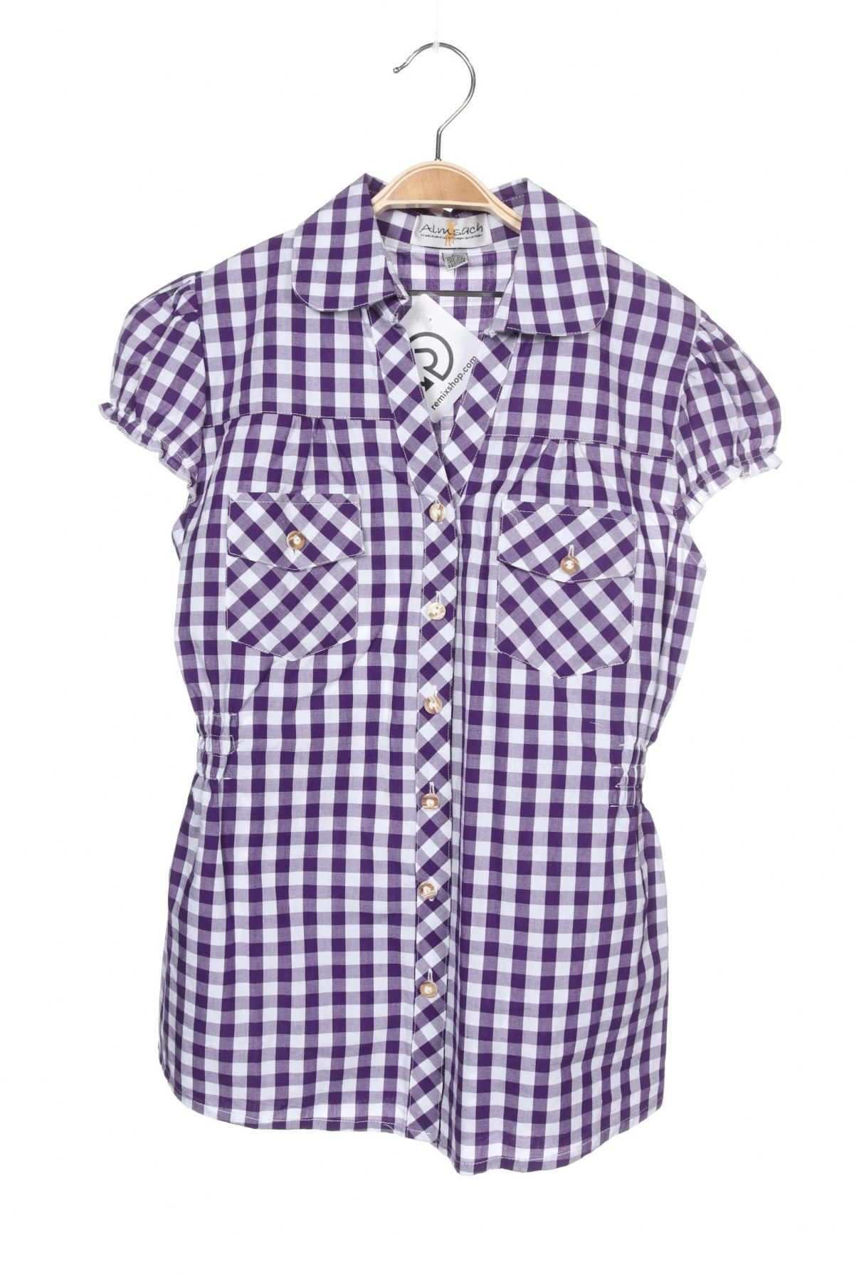 Παιδικό πουκάμισο Almsach, Μέγεθος 9-10y/ 140-146 εκ., Χρώμα Βιολετί, Βαμβάκι, Τιμή 5,26€