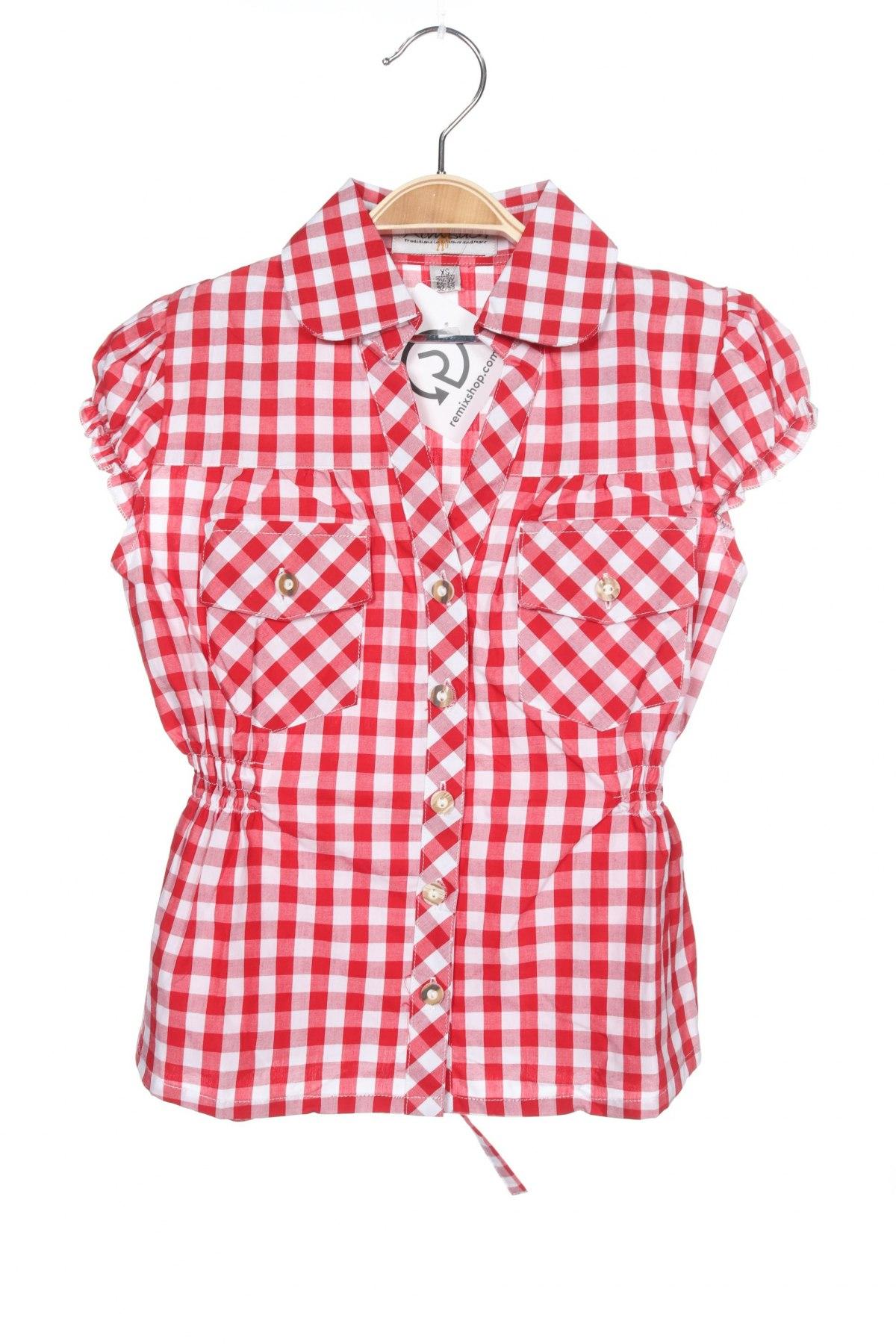 Παιδικό πουκάμισο Almsach, Μέγεθος 18-24m/ 86-98 εκ., Χρώμα Κόκκινο, Βαμβάκι, Τιμή 5,78€