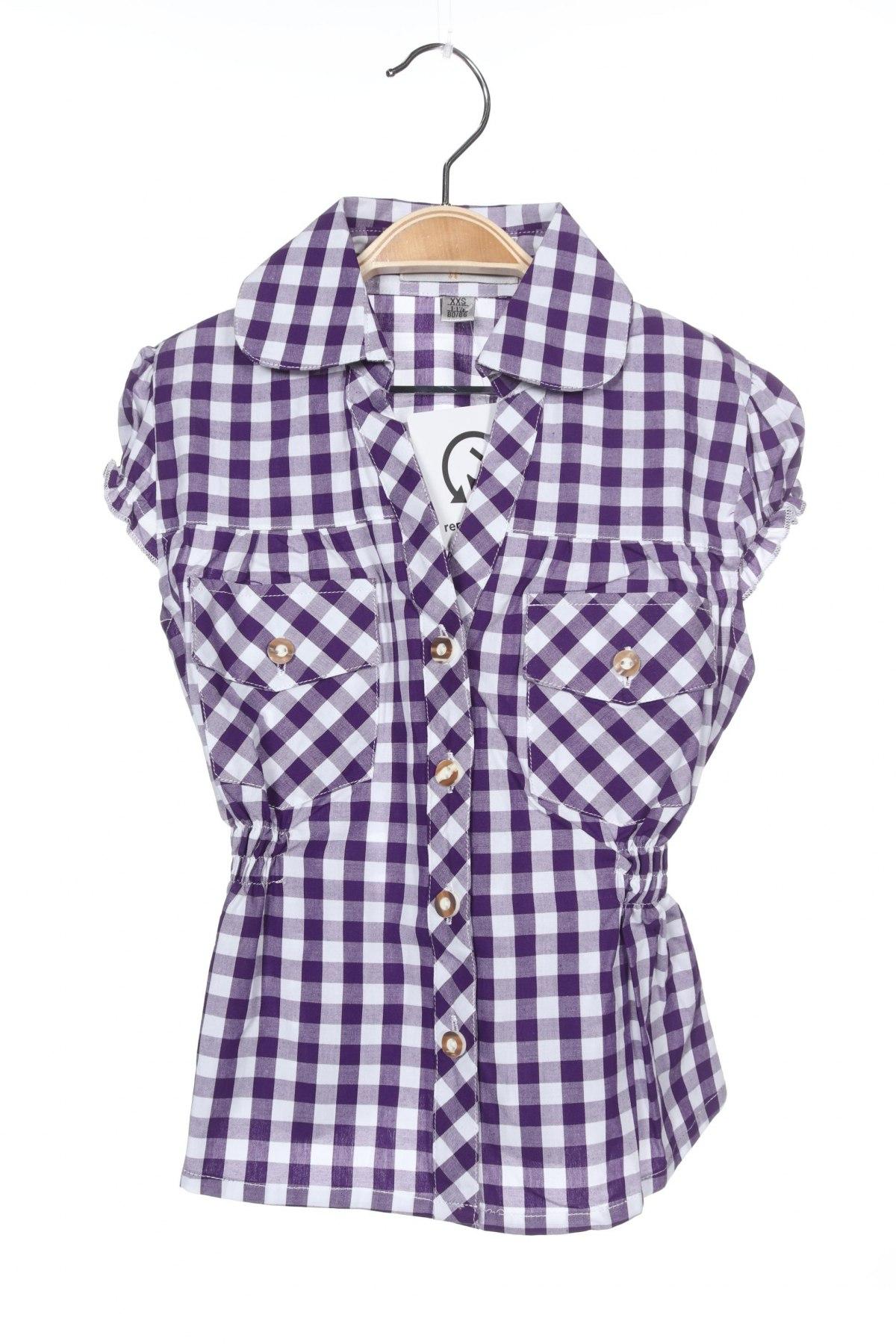 Παιδικό πουκάμισο Almsach, Μέγεθος 12-18m/ 80-86 εκ., Χρώμα Βιολετί, Βαμβάκι, Τιμή 5,26€