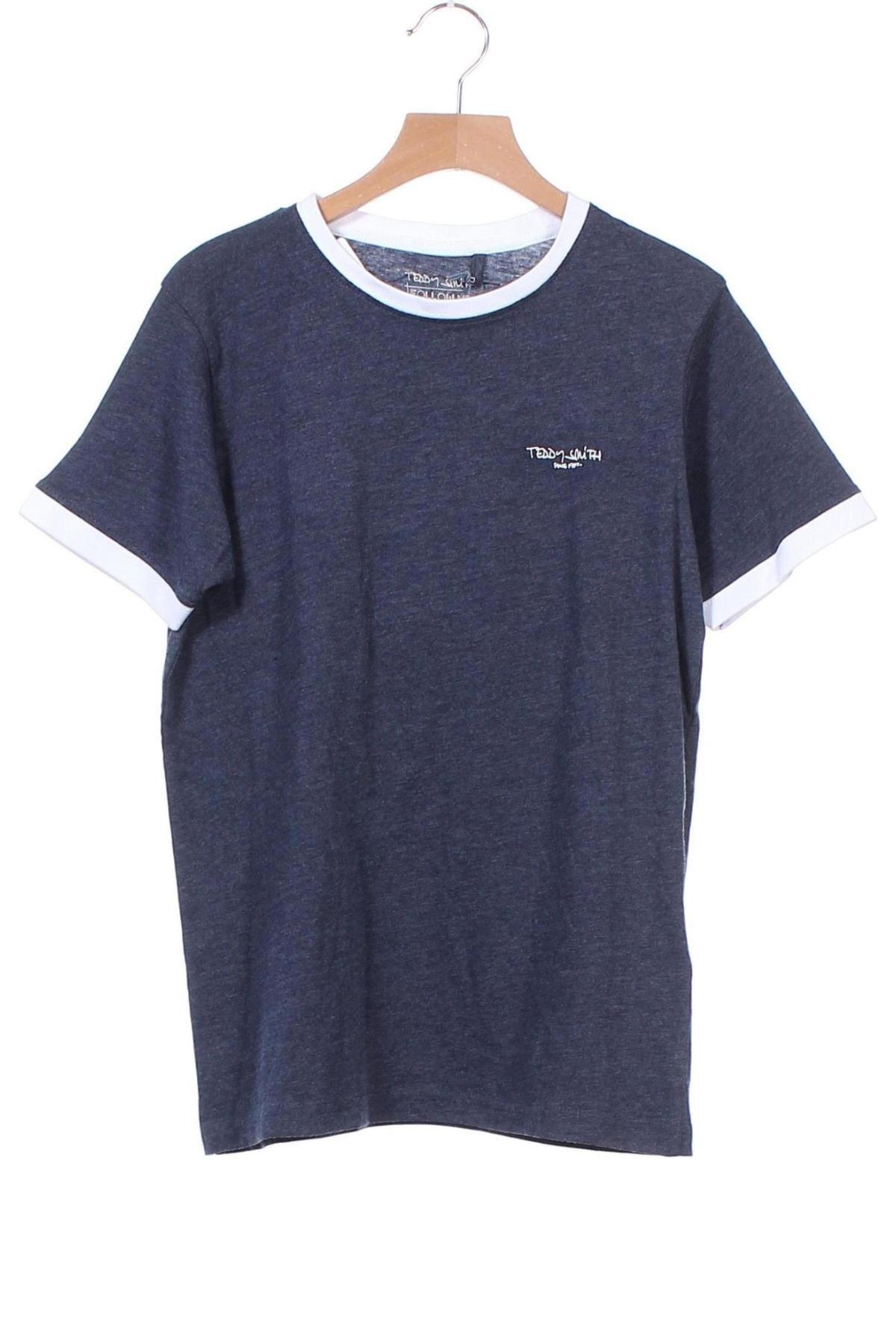 Παιδικό μπλουζάκι Teddy Smith, Μέγεθος 12-13y/ 158-164 εκ., Χρώμα Μπλέ, 60% βαμβάκι, 40% πολυεστέρας, Τιμή 10,17€
