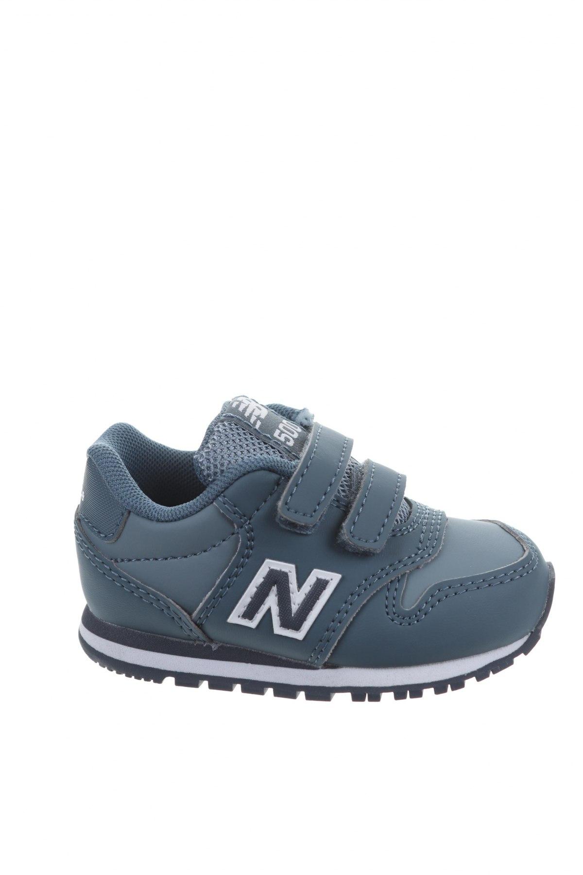 Παιδικά παπούτσια New Balance, Μέγεθος 20, Χρώμα Μπλέ, Δερματίνη, Τιμή 15,14€