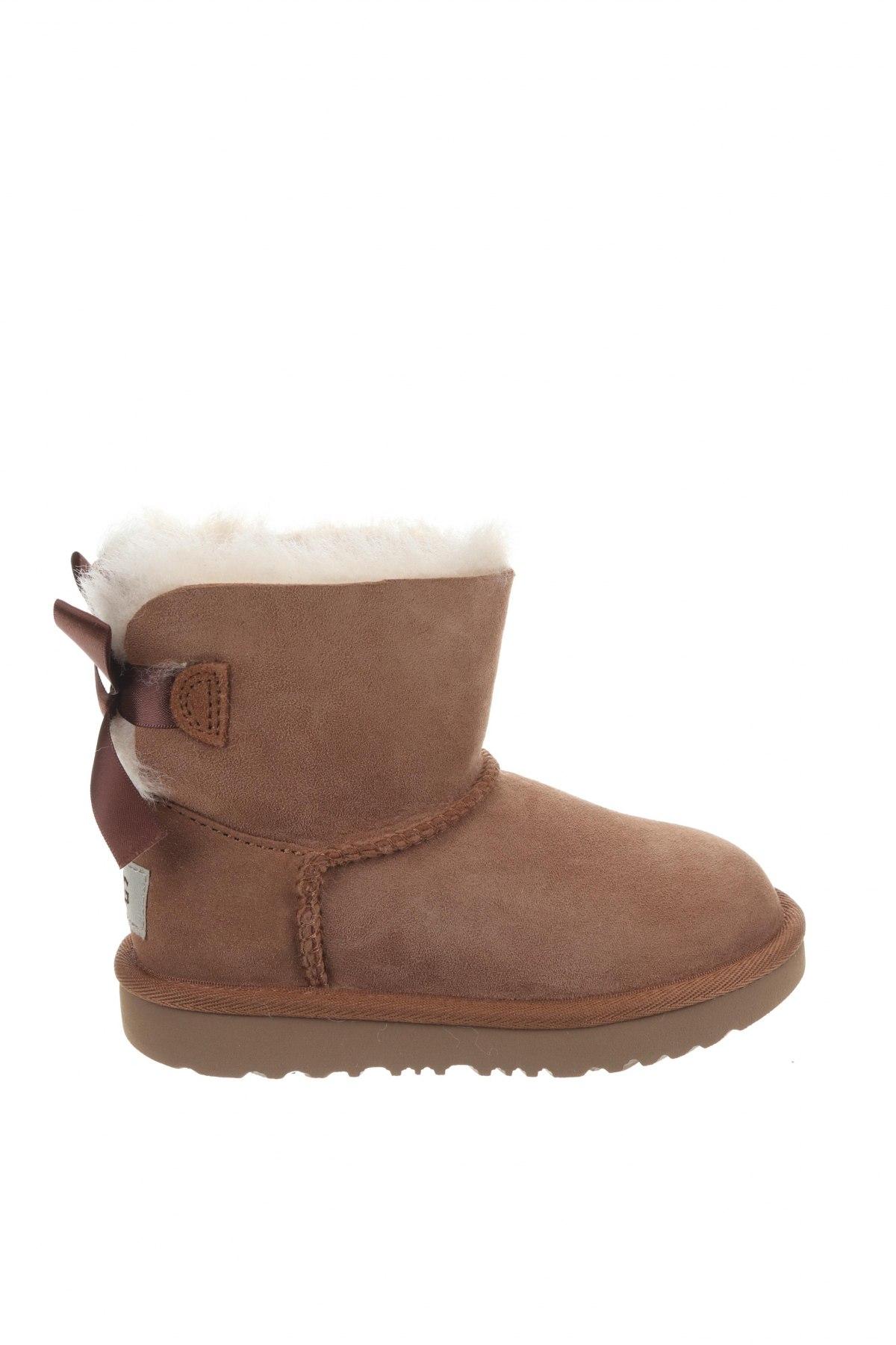 Παιδικά παπούτσια UGG Australia, Μέγεθος 26, Χρώμα Καφέ, Φυσικό σουέτ, Τιμή 57,66€
