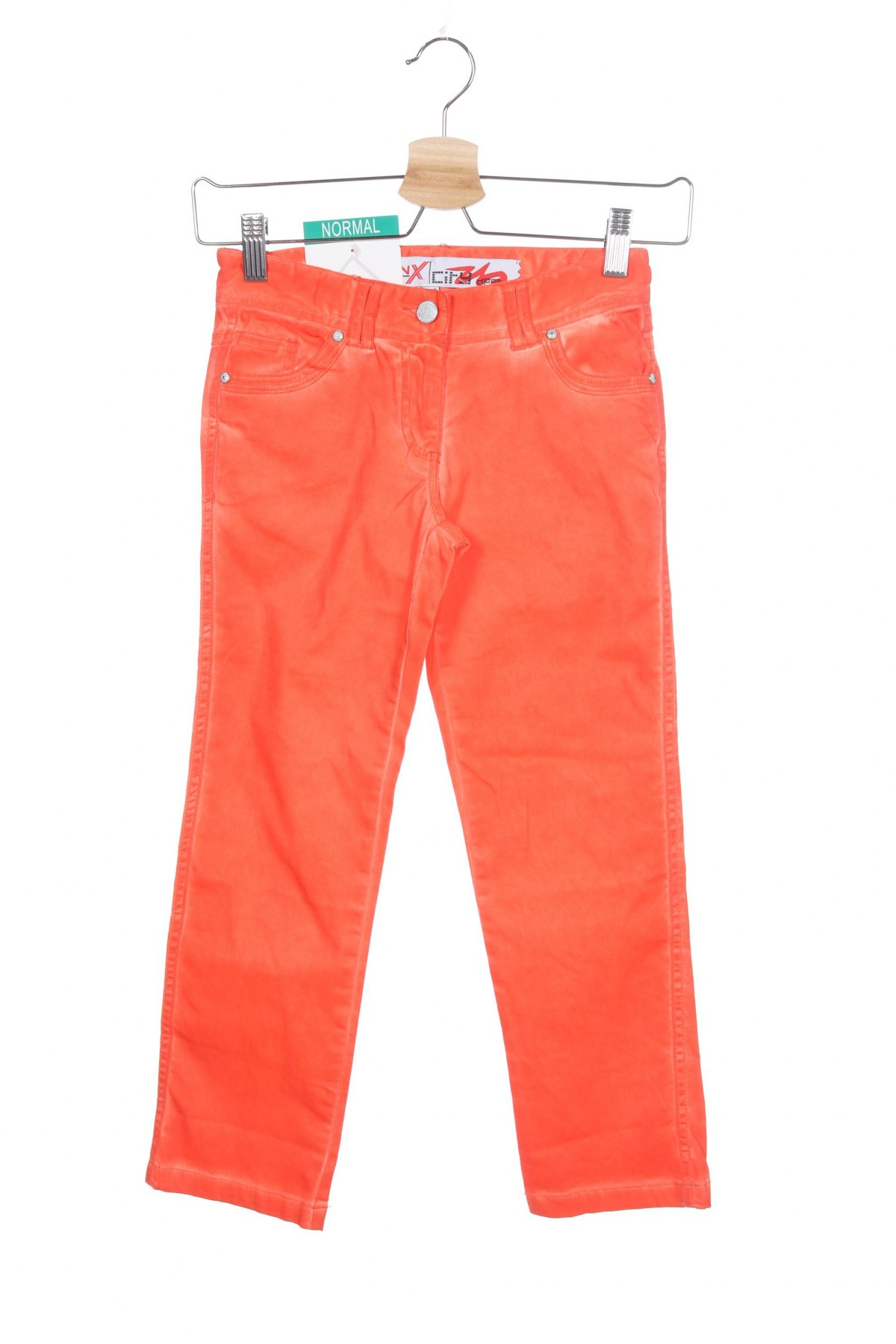 Παιδικό παντελόνι Million X, Μέγεθος 7-8y/ 128-134 εκ., Χρώμα Πορτοκαλί, 98% βαμβάκι, 2% ελαστάνη, Τιμή 10,04€
