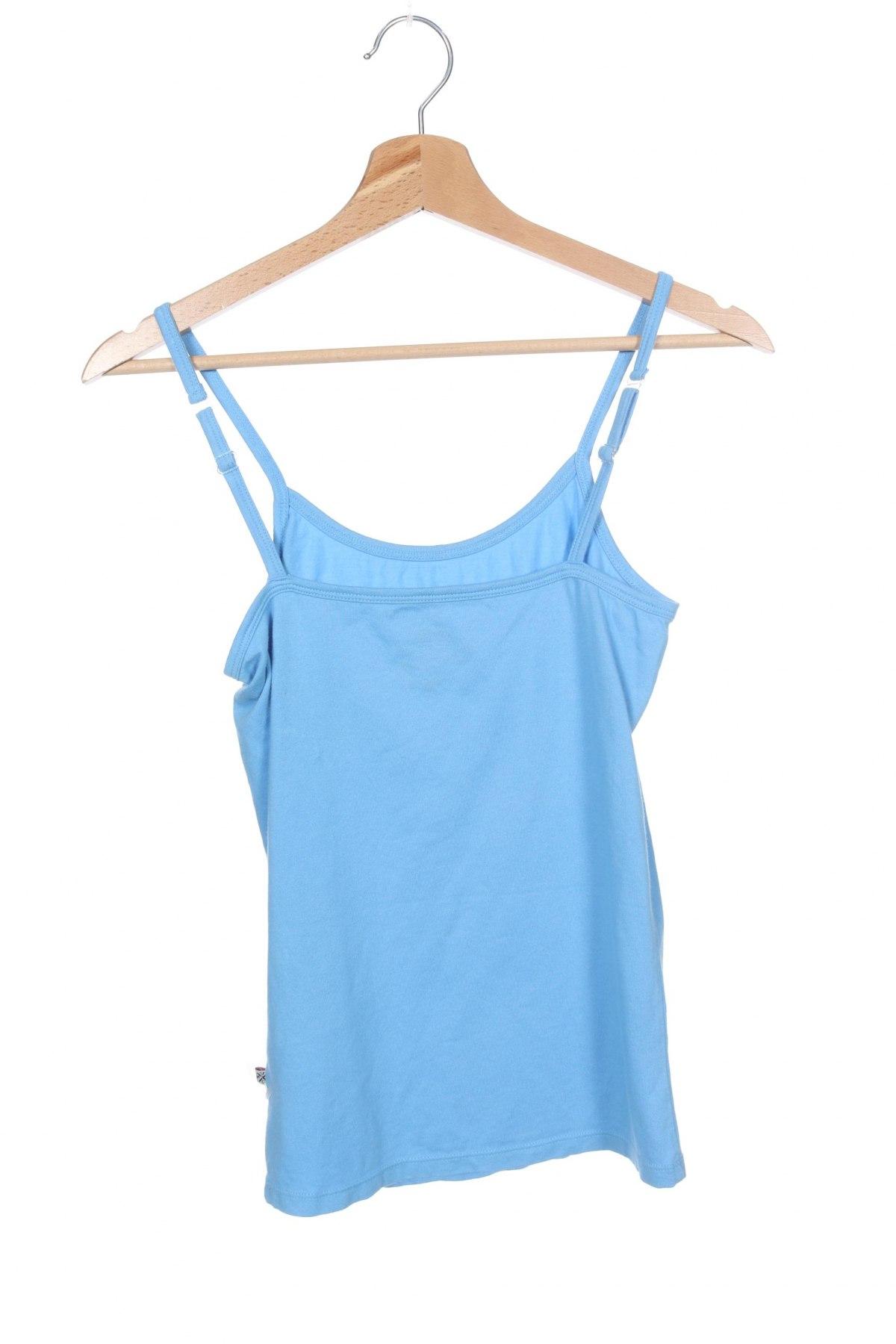 Μπλουζάκι αμάνικο παιδικό Vingino, Μέγεθος 13-14y/ 164-168 εκ., Χρώμα Μπλέ, 95% βαμβάκι, 5% ελαστάνη, Τιμή 5,36€