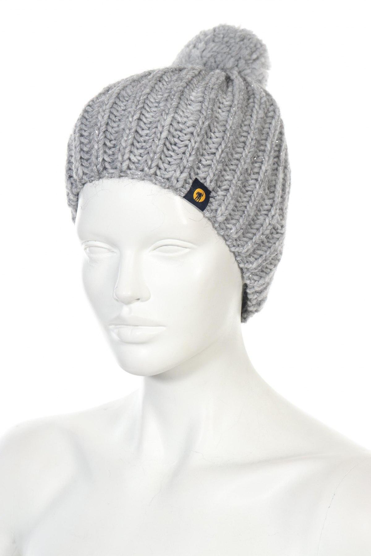 Καπέλο Ciesse Piumini, Χρώμα Γκρί, 15% μαλλί από αλπακά, 15% μαλλί, 10% βισκόζη, 60%ακρυλικό, Τιμή 16,24€