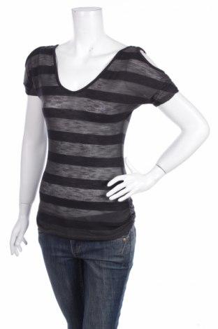 Дамска блуза American Dream, Размер S, Цвят Черен, 57% полиестер, 43% вискоза, Цена 3,78лв.