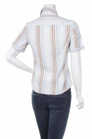 Γυναικείο πουκάμισο Caliban, Μέγεθος XL, Χρώμα Μπλέ, Βαμβάκι, πολυεστέρας, Τιμή 13,61€