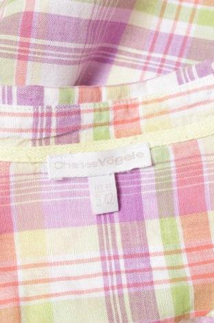 Γυναικείο πουκάμισο Charles Vogele, Μέγεθος L, Χρώμα Πολύχρωμο, 55% λινό, 45% βαμβάκι, Τιμή 9,90€