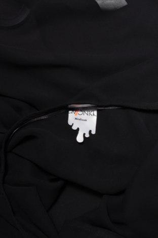 Γυναικείο πουκάμισο Monki, Μέγεθος M, Χρώμα Μαύρο, Πολυεστέρας, Τιμή 9,90€