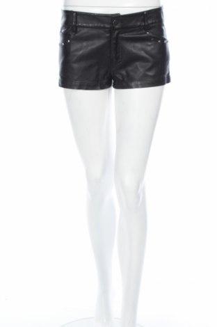 Γυναικείο κοντό δερμάτινο παντελόνι
