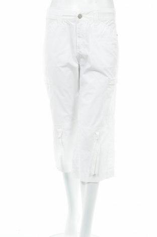 Дамски панталон Didi, Размер M, Цвят Бял, Памук, Цена 8,16лв.