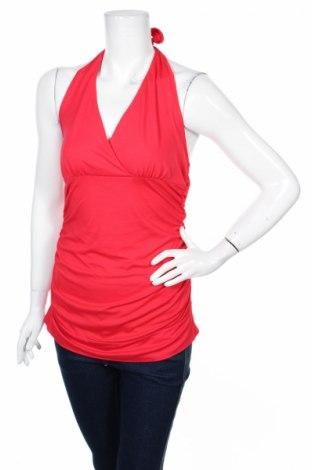 Дамски потник Aniston, Размер M, Цвят Червен, 95% вискоза, 5% еластан, Цена 3,04лв.