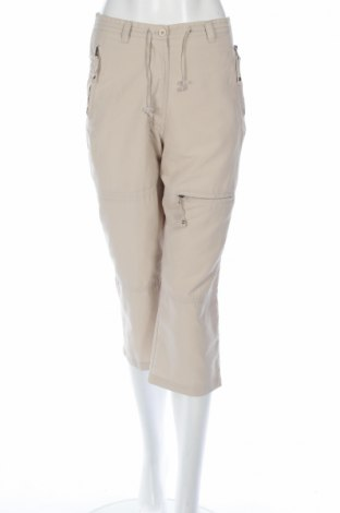 Дамски спортен панталон Ze-Ze Concept, Размер S, Цвят Бежов, Полиестер, Цена 3,04лв.