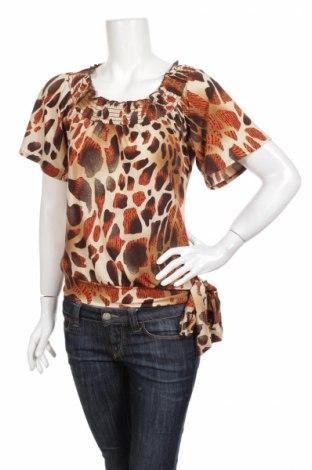 Γυναικεία μπλούζα Heart Soul, Μέγεθος S, Χρώμα Πολύχρωμο, 95% πολυεστέρας, 5% ελαστάνη, Τιμή 3,98€