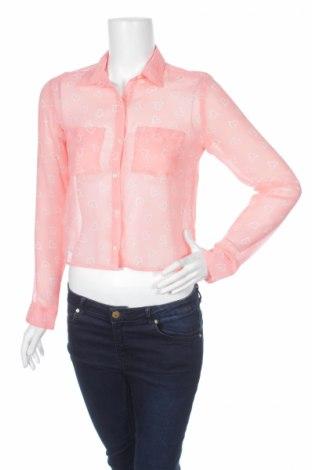 Γυναικείο πουκάμισο Aeropostale, Μέγεθος S, Χρώμα Ρόζ , 100% πολυεστέρας, Τιμή 14,23€