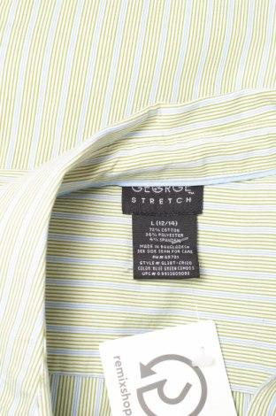 Γυναικείο πουκάμισο George, Μέγεθος L, Χρώμα Πράσινο, 72% βαμβάκι, 24% πολυεστέρας, 4% ελαστάνη, Τιμή 12,99€