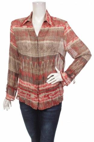 Γυναικείο πουκάμισο Lebek, Μέγεθος L, Χρώμα Πολύχρωμο, 100% πολυεστέρας, Τιμή 21,03€