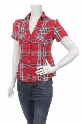 Дамска риза Terranova, Размер XS, Цвят Многоцветен, Памук, Цена 7,00лв.