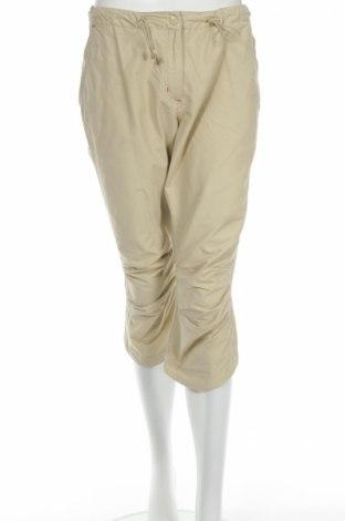 Дамски панталон H&M L.o.g.g, Размер M, Цвят Бежов, 70% памук, 30% полиамид, Цена 4,50лв.