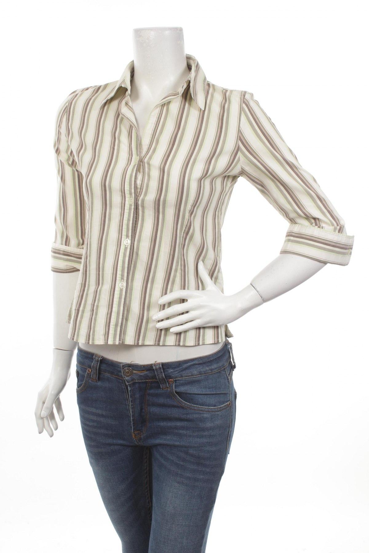 Γυναικείο πουκάμισο Clockhouse, Μέγεθος S, Χρώμα Πολύχρωμο, 67% βαμβάκι, 28% πολυεστέρας, 5% ελαστάνη, Τιμή 18,04€