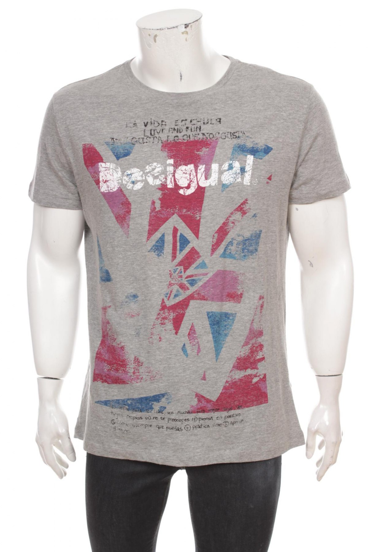 Pánske tričko Desigual - za výhodnú cenu na Remix -  100343502 16c03ad2247