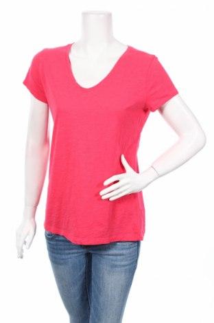 Дамска тениска Loft By Ann Taylor, Размер L, Цвят Розов, 100% памук, Цена 7,00лв.