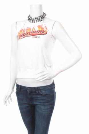 Γυναικείο αμάνικο μπλουζάκι Killah, Μέγεθος M, Χρώμα Λευκό, Βαμβάκι, Τιμή 14,35€