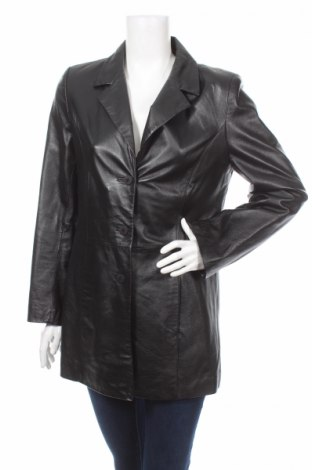 Δερμάτινο γυναικείο παλτό Authentic Clothing