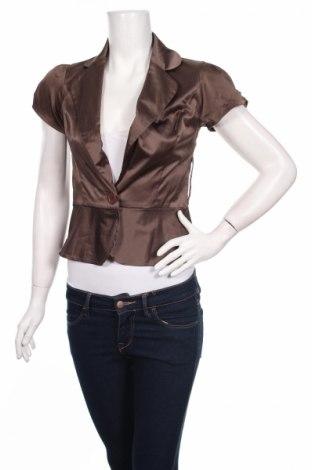 Γυναικείο σακάκι Lulumary, Μέγεθος S, Χρώμα Γκρί, 55% πολυεστέρας, 41% βαμβάκι, 4% ελαστάνη, Τιμή 2,90€