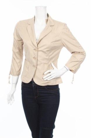 Дамско сако Steilmann, Размер S, Цвят Бежов, 97% памук, 3% еластан, Цена 12,48лв.