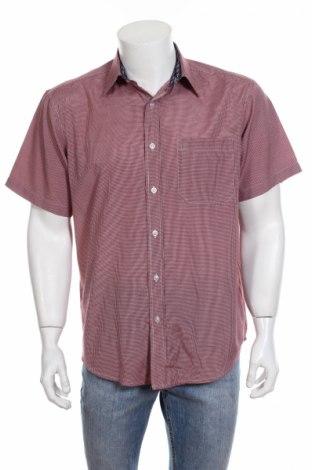 Мъжка риза, Размер L, Цвят Червен, 85% полиестер, 15% памук, Цена 3,80лв.