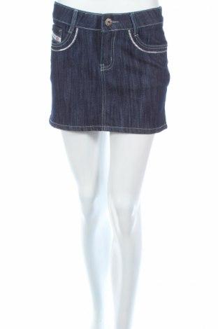 Φούστα J-Denim, Μέγεθος S, Χρώμα Μπλέ, 70% βαμβάκι, 27% πολυεστέρας, 3% ελαστάνη, Τιμή 4,29€