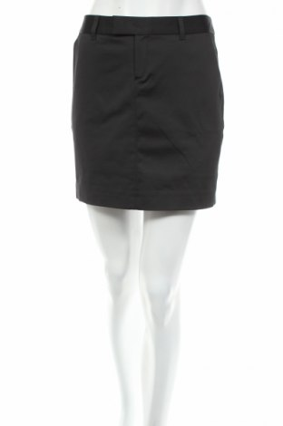 Пола Monton, Размер M, Цвят Черен, 52% памук, 45% полиестер, 3% еластан, Цена 5,98лв.