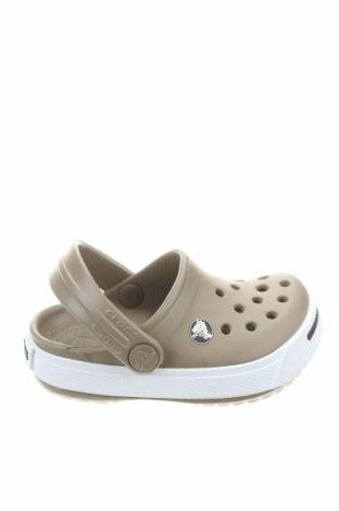 Чехли Crocs, Размер 18, Цвят Кафяв, Полиуретан, Цена 25,20лв.
