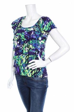 Дамска блуза Ab Studio, Размер M, Цвят Многоцветен, 95% полиестер, 5% еластан, Цена 4,25лв.