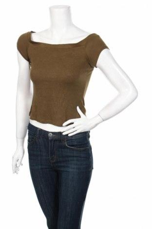 Дамска блуза Ambiance, Размер M, Цвят Зелен, 95% вискоза, 5% еластан, Цена 3,06лв.
