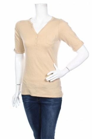 Дамска блуза Anne L., Размер S, Цвят Бежов, Памук, Цена 4,25лв.