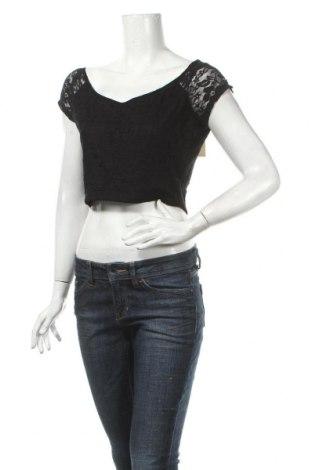 Дамска блуза Arden B., Размер L, Цвят Черен, 92% полиамид, 8% еластан, Цена 6,25лв.