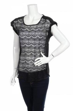 Дамска блуза Express, Размер S, Цвят Черен, Полиамид, Цена 5,27лв.