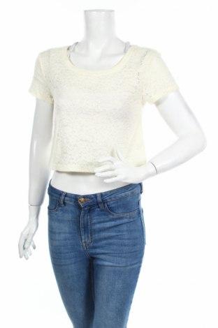 Дамска блуза Express, Размер S, Цвят Бял, 97% полиамид, 3% еластан, Цена 4,76лв.