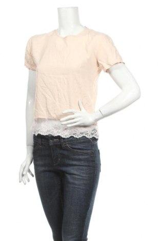 Дамска блуза Fresh Made, Размер L, Цвят Розов, Вискоза, Цена 4,64лв.