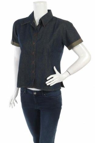 Дамска риза, Размер M, Цвят Син, Цена 8,44лв.