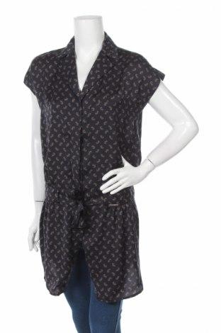 Дамска риза, Размер M, Цвят Черен, Полиестер, Цена 5,75лв.