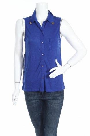 Дамска риза Bongo, Размер M, Цвят Син, 65% полиестер, 35% вискоза, Цена 5,32лв.