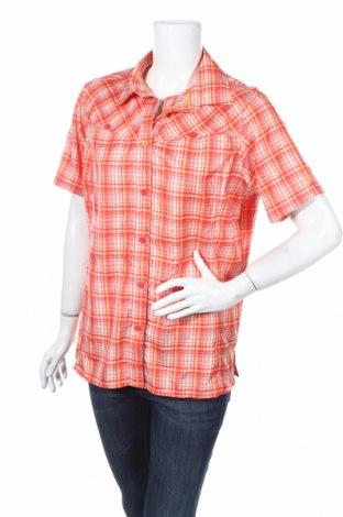 Γυναικείο πουκάμισο Camp, Μέγεθος L, Χρώμα Πολύχρωμο, Πολυεστέρας, Τιμή 2,94€